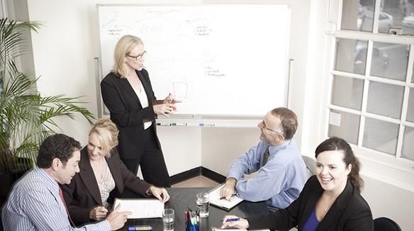 business meeting corporate actors